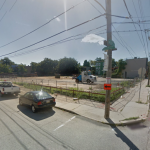 The southeast corner of 31st and Thompson | Google Street View