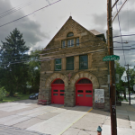 The firehouse is now on the Philadelphia Register of Historic Places | via Google Street View