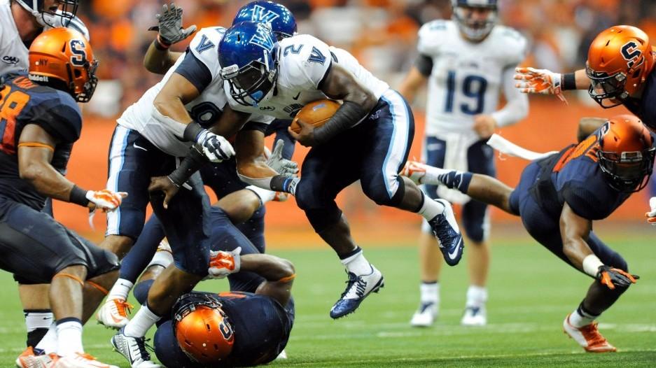 NCAA Football: Villanova at Syracuse