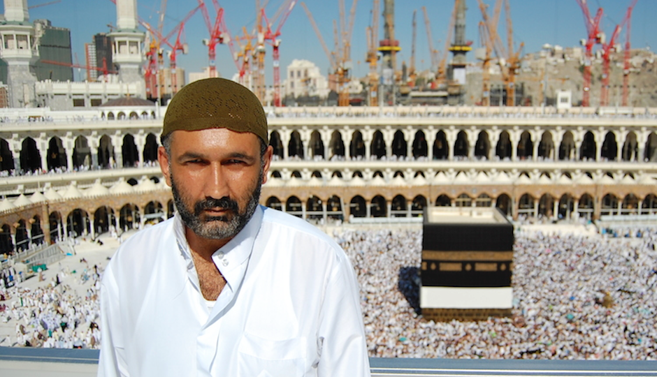 "A scene from ""A Sinner in Mecca."""