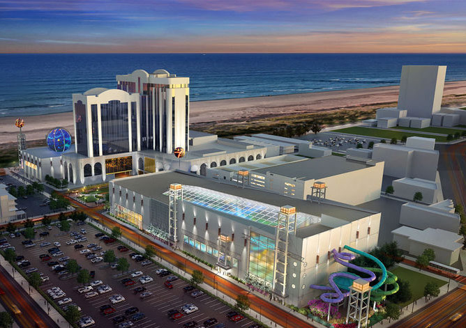 Atlantic Club waterpark rendering