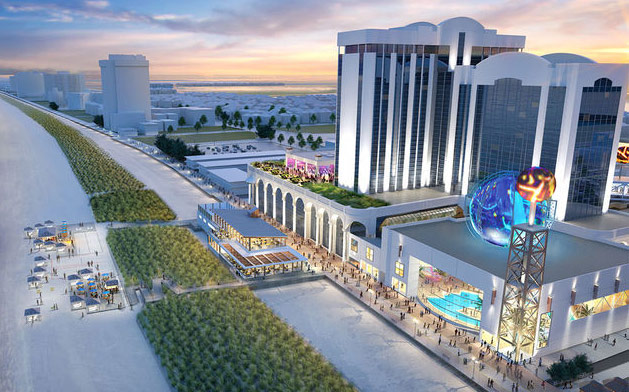 Atlantic Club Waterpark Renderings