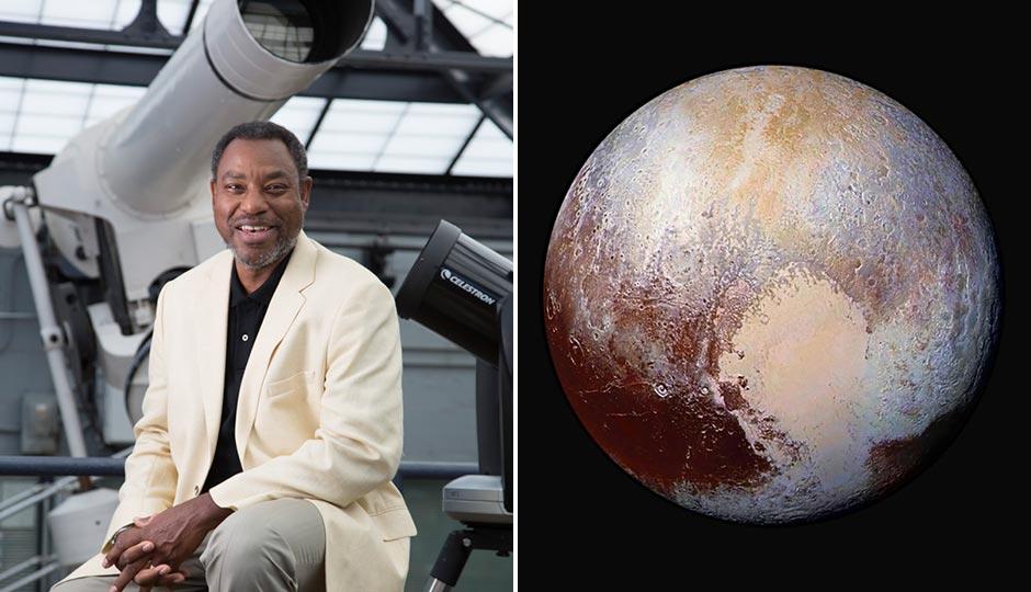Derrick Pitts | Franklin Institute. Pluto | NASA