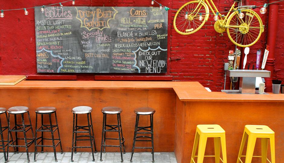 Drury Beer Garden DBG Bar 940