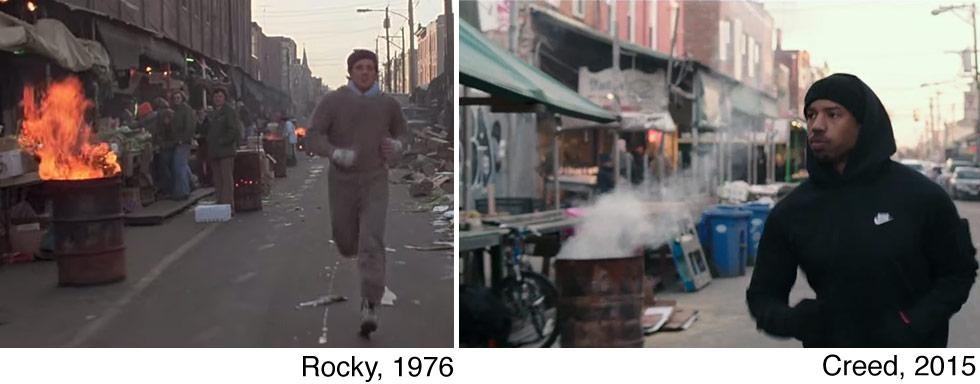 Rocky vs. Creed - Flaming Barrel