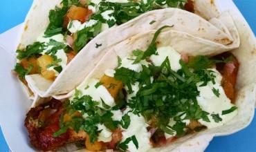 Fish tacos at Honest Tom's