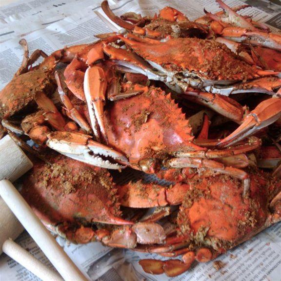 EAT Hard Shell Crab