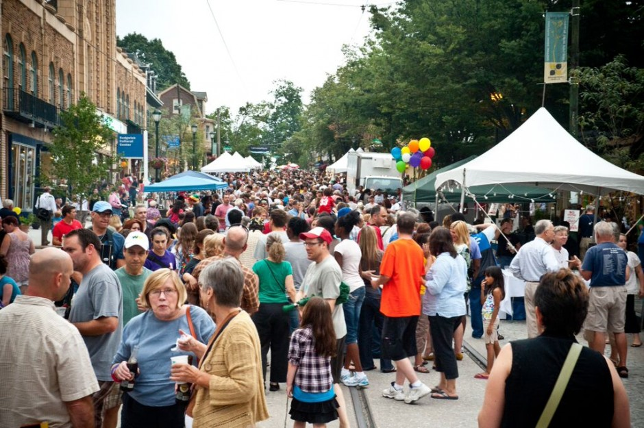 Last year's Street Fare in Mt. Airy.