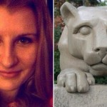 Lauren Bajorek via Facebook | Nittany Lion via Shutterstock.com