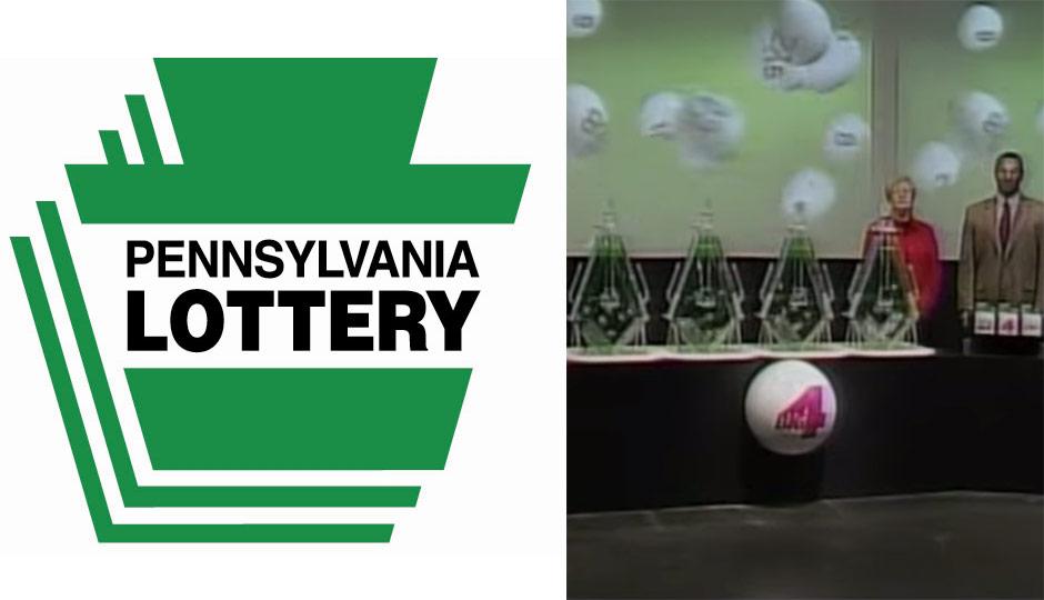 Pennsylvania Lottery drawing + logo