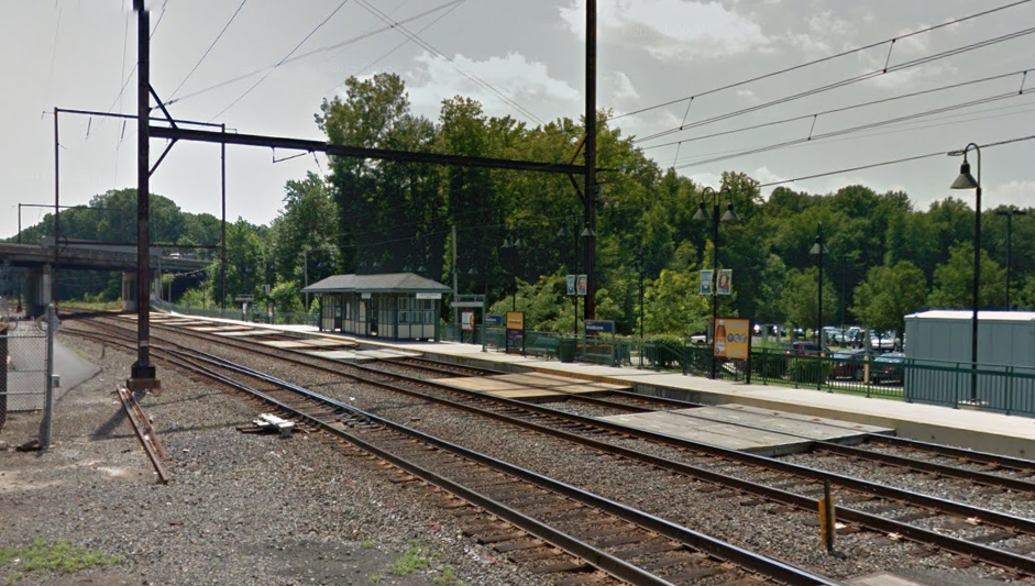 The pope's appearance in Philadelphia iis expected to have a major impact on Middletown's Woodbourne SEPTA train station. | Google Maps