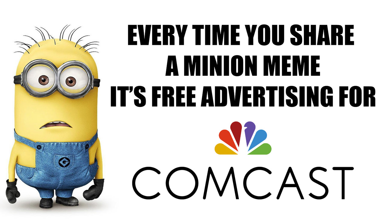 Minions and Comcast