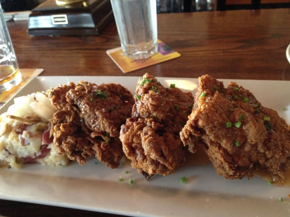 Twice Fried Chicken from Resurrection Ale House.