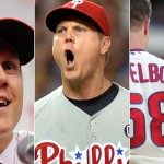 Papelbon through the years. Photos, from left, Howard Smith,  Steve Mitchell, H. Rumph Jr., all USA Today Sports Images