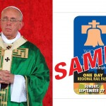 Pope Francis, miqu77 / Shutterstock.com. Pope Pass sample, via SEPTA.