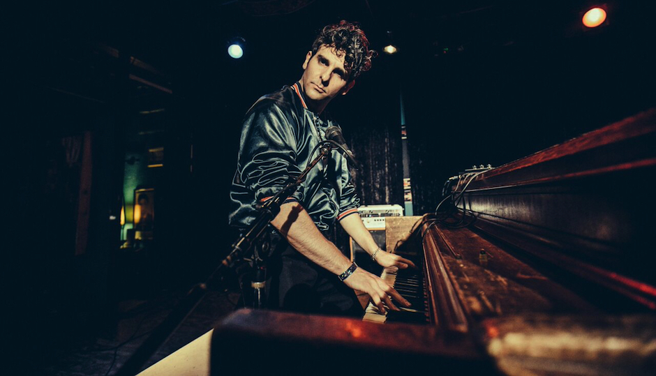 Low Cut Connie singer Adam Weiner at the piano. (Photo by Marcus Junius Laws)