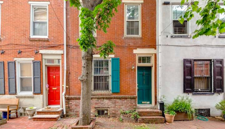 Trinities like this one at 1635 Rodman Street may well be Philadelphia's secret weapon in the affordability arms race for Millennials. Image | Zillow.com