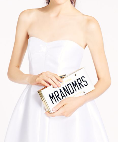 How adorable is this Kate Spade clutch?