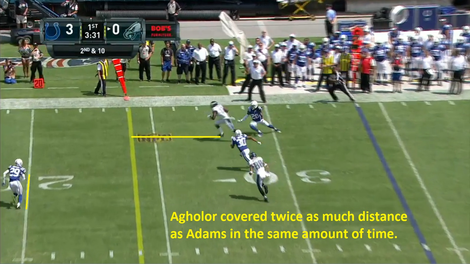 Agholor Touchdown