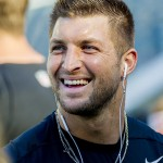 Tim Tebow while on the Eagles