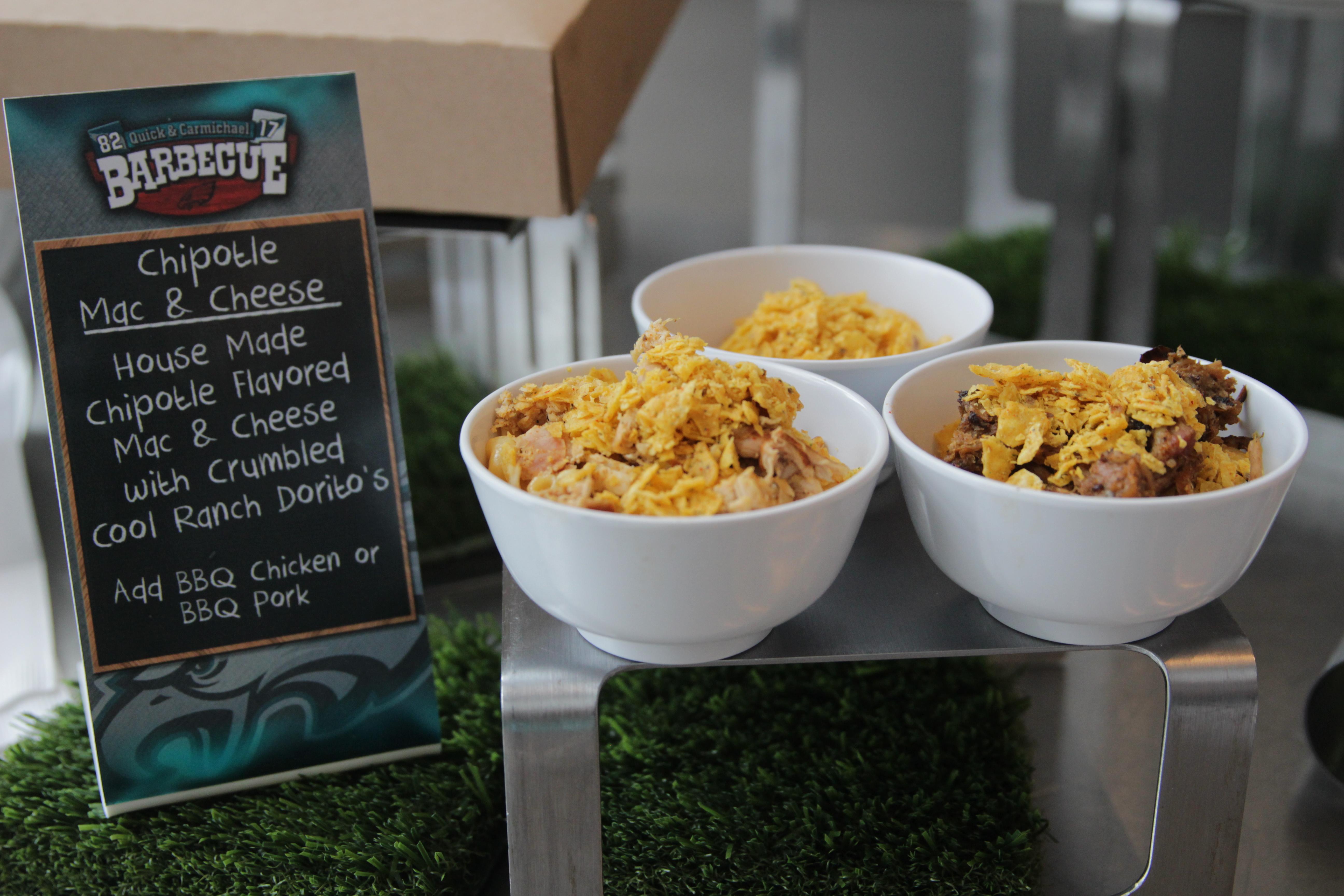 Chipotle Mac & Cheese   Photo via Aramark