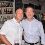 From left: Avi Golen and Chef Michael Solomonov