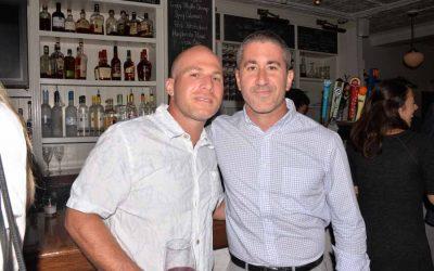 From left: Avi Golen and Chef Michael Solomonov