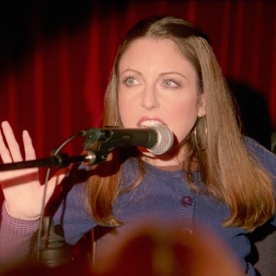 DeVido as storyteller Andrea Mumford in Difficult People.