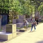Innovation Plaza, Innovators Walk of Fame rendering   Courtesy of University City Science Center