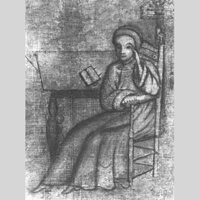 """Johannes Kelpius"" by Christopher Witt - The Historical Society of Pennsylvania, http://www.hsp.org. Licensed under Public Domain via Wikimedia Commons."