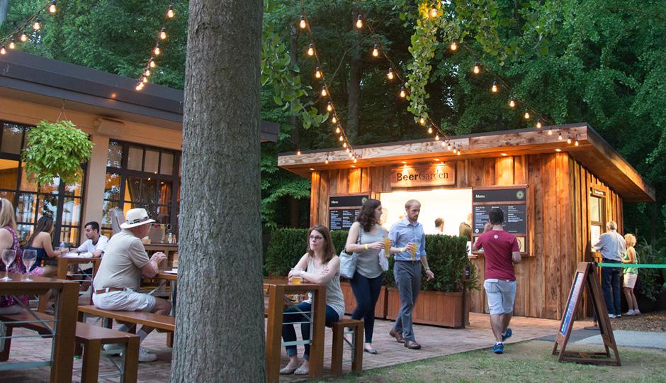 Longwood Opens New Beer Garden Brew Lovers Rejoice Philadelphia Magazine