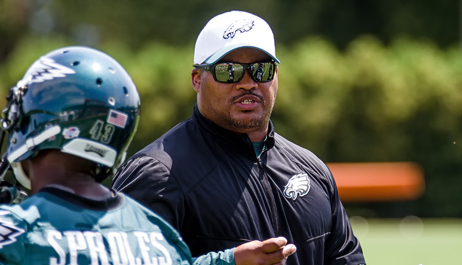 Duce Staley. (Jeff Fusco)