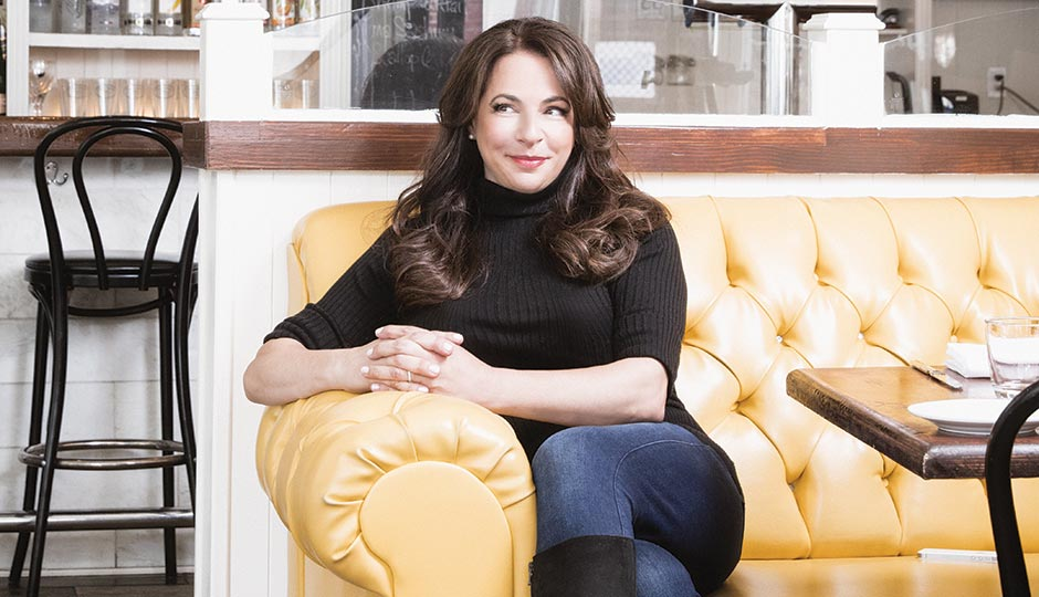 Audrey Taichman at Twenty Manning Grill. Photograph by Chris Crisman; hair and makeup by Megan Ambroch.