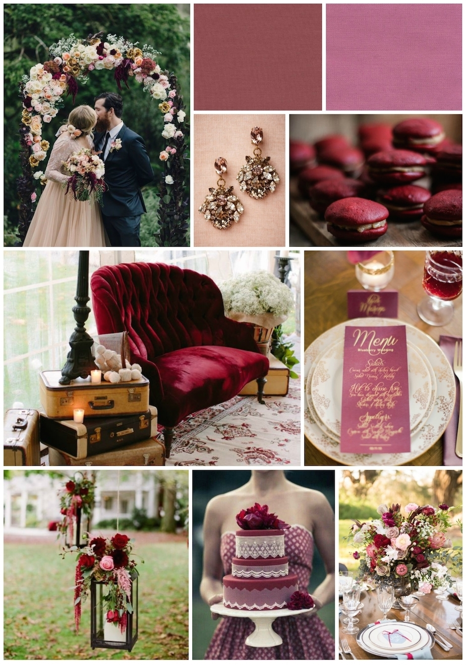 Inspiration photos gathered from Pinterest.