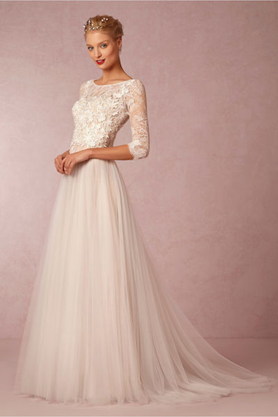 You guys: The Watters Amelie gown is now under $1,000 at BHLDN.com.
