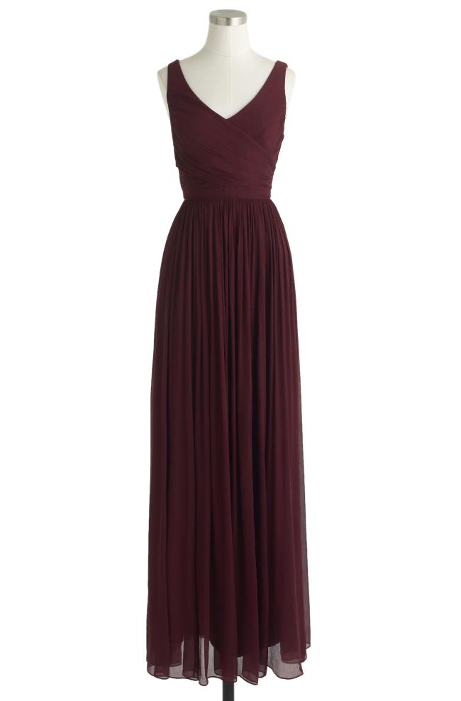 PW-marsala dress