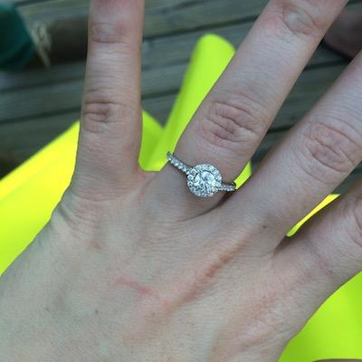 Caiti's ring!
