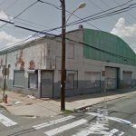 The warehouse at 20th and Wharton has since been demolished. | via Google Street View