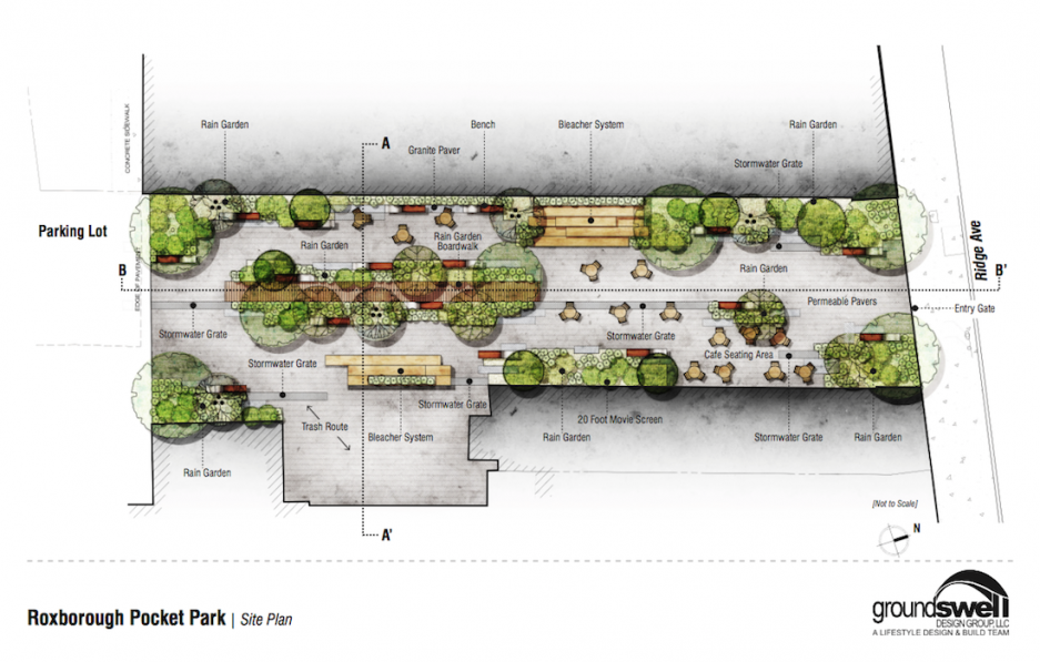 The big reveal first designs of the ridge avenue pocket for Park avenue designs