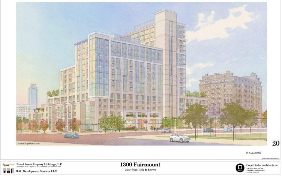 1300 Fairmount | Via Civic Design Review, RAL Development Services, Cope Linder Architects
