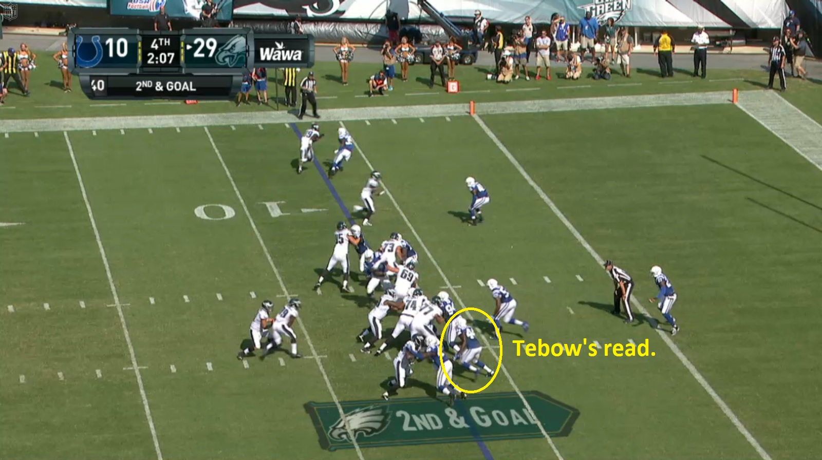 Tim Tebow Touchdown