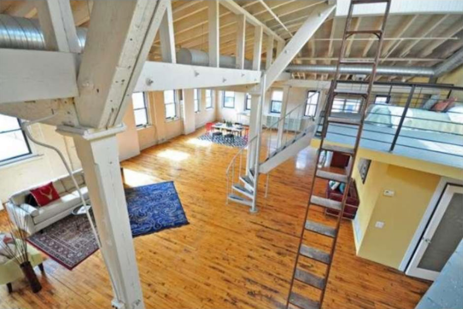 Spotted gigantic eraserhood penthouse loft with out of this world