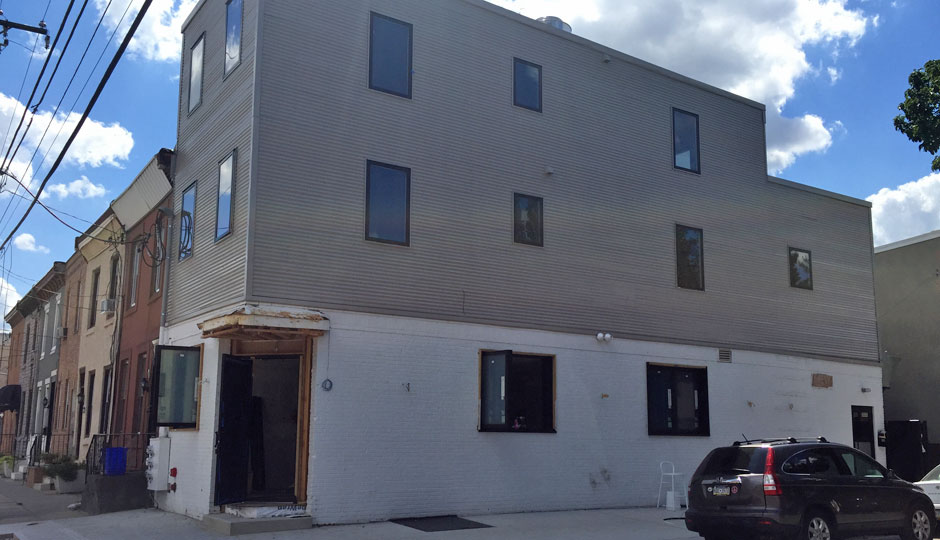 Buckminster's, under construction in Point Breeze.