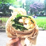 Curry Tofu Wrap from HipCityVeg | Photo via Facebook