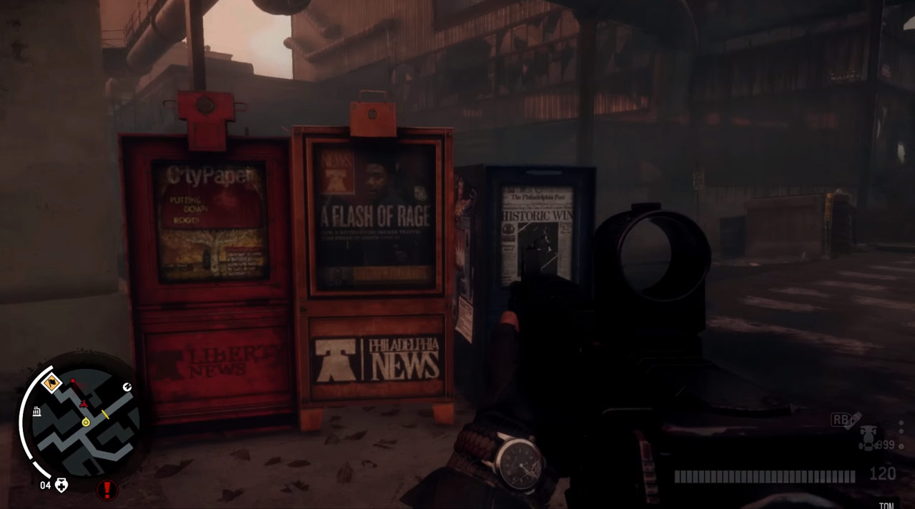 Fake Philly Newspapers in Homefront