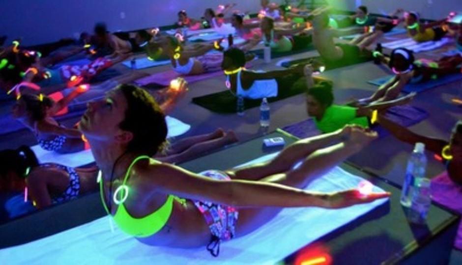 Catch GLOWGA this month at Priya Hot Yoga