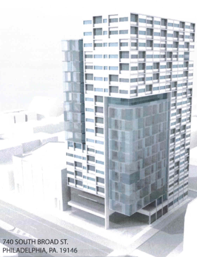 Rendering of what the 20-story condo high rise | Provided by Anthony Beverley