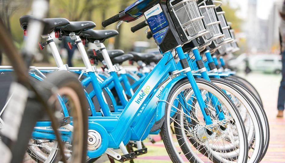 For the first time since it launched, Indego is taking its bike sharing stations offline due to inclement weather. Photo | Indego Facebook