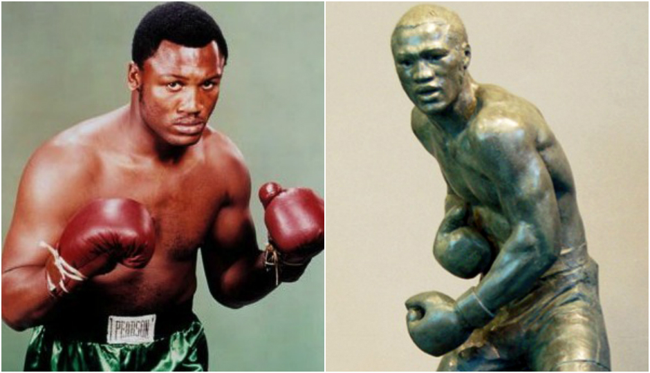 joe frazier and statue