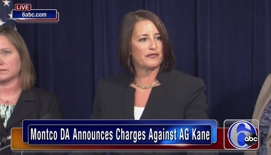 Risa Vetri Ferman discusses charges against Attorney General Kathleen Kane.